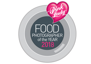Pink Lady Food Photographer of the Year Award 2018 logo